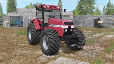 Case IH 7250 Magnum few wheel options para Farming Simulator 2017