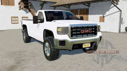 GMC Sierra Regular Cab 2015 para Farming Simulator 2017