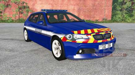 ETK 800-Series Gendarmerie v0.1.5 para BeamNG Drive