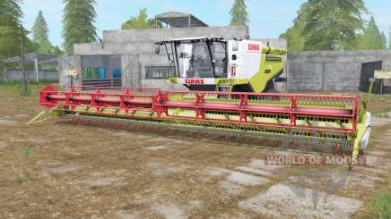 Claas Lexion 780 TerraTrac wattle para Farming Simulator 2017