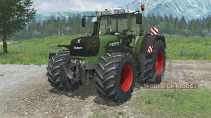Fendt 930 Vario TMS wheels dirty para Farming Simulator 2013