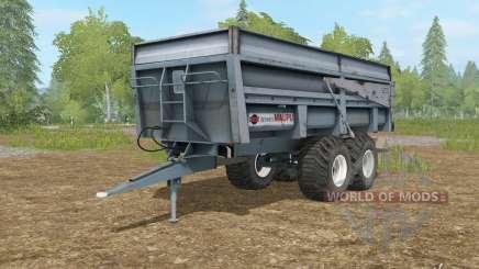 Maupu BBM slate gray para Farming Simulator 2017