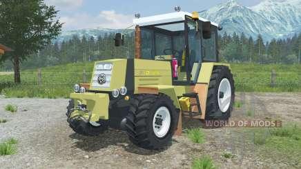 Fortschritt ZT 323-A halogen front and rear para Farming Simulator 2013
