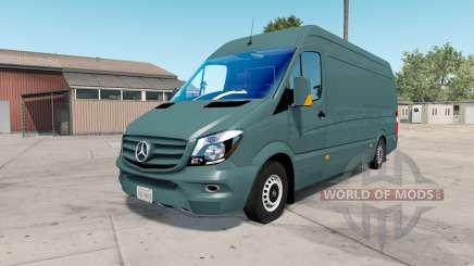 Mercedes-Benz Sprinter 315 CDI LWB (Br.906) 2015 para American Truck Simulator