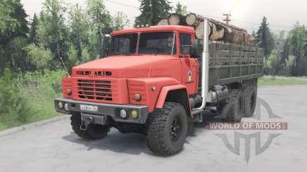 KrAZ-260 Naftovik para Spin Tires