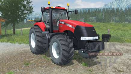 Case IH Magnum 370 CVX digital speedometer para Farming Simulator 2013