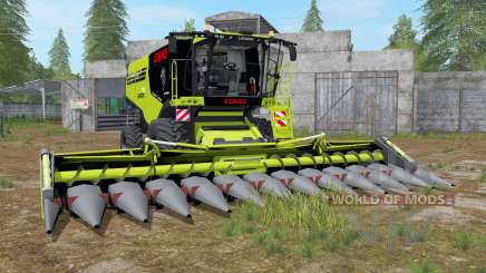 Claas Lexion 795 with headers para Farming Simulator 2017