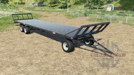 Fliegl DPW 180 bales autoload para Farming Simulator 2017