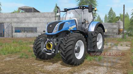 New Holland T7-series interactive control para Farming Simulator 2017