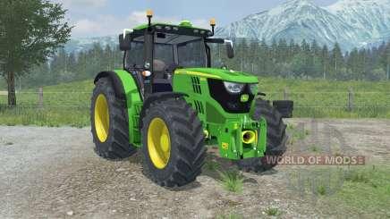 John Deere 6150R full hydraulics animation para Farming Simulator 2013
