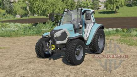 Lindner Lintrac 90 with two added engine options para Farming Simulator 2017
