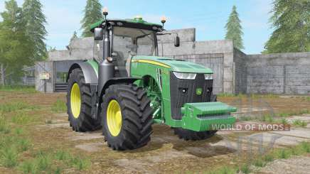 John Deere 8R-series revamped dirt textures para Farming Simulator 2017