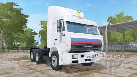 KamAZ-54115 animado dashboard para Farming Simulator 2017
