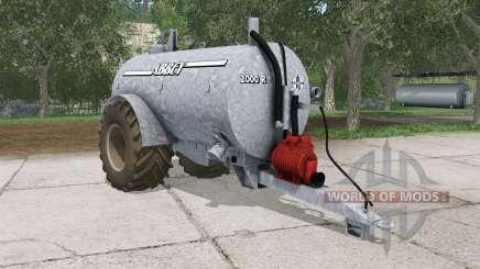 Abbey 2000R french gray para Farming Simulator 2015