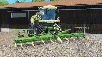 Krone BiG X 580 grass para Farming Simulator 2015
