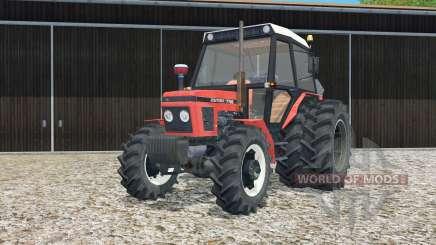 Zetor 7745 rear twin wheels para Farming Simulator 2015