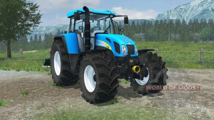 New Holland T7550 FL console para Farming Simulator 2013