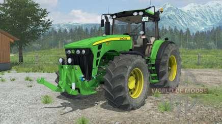 John Deere 8530 suspension axis wheel steering para Farming Simulator 2013