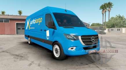 Mercedes-Benz Sprinter VS30 Vaɳ 316 CDI 2019 para American Truck Simulator