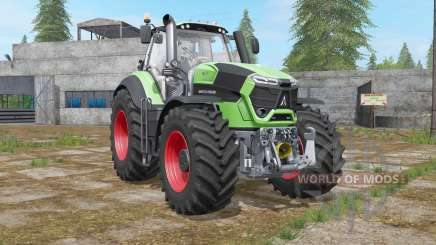 Deutz-Fahr 9-series TTV Agrotron engine upgrade para Farming Simulator 2017