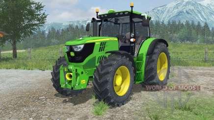 John Deere 6150R animated hydraulic para Farming Simulator 2013