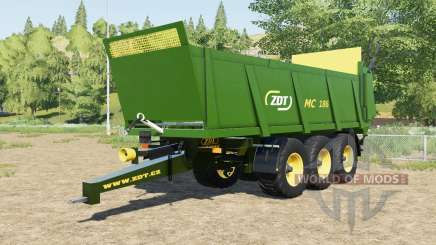 ZDT MC 186 forest green para Farming Simulator 2017