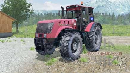 MTZ-3022ДЦ.1 Bielorrússia animado eixo dianteiro para Farming Simulator 2013