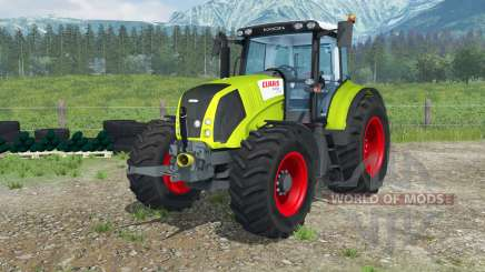 Claas Axion 840 digital speedometer para Farming Simulator 2013