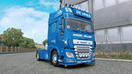DAF XF De Vries v1.2 para Euro Truck Simulator 2