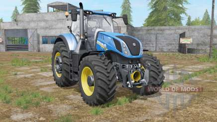 New Holland T7-series with a few modifications para Farming Simulator 2017