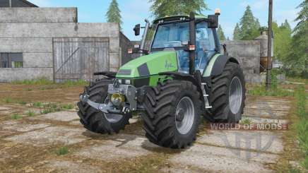 Deutz-Fahr Agrotron 120 MK3 wheels selection para Farming Simulator 2017