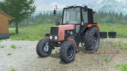 MTZ-82.1 Bielorrússia soft-vermelho para Farming Simulator 2013