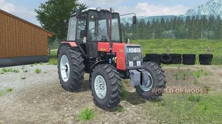 MTZ-Bielorrússia 1025 vermelho para Farming Simulator 2013