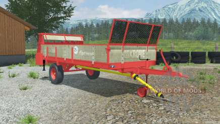 Krone Optimat 4.5 para Farming Simulator 2013