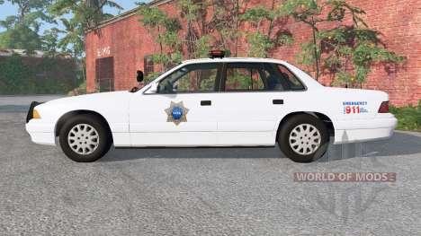 Gavril Grand Marshall NASA ARC Police para BeamNG Drive