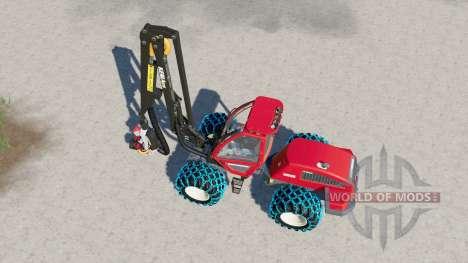 Sampo Rosenlew HR46X para Farming Simulator 2017