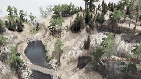 Over the mountain para Spintires MudRunner