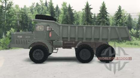 MAZ-530 para Spin Tires