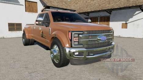 Ford F-450 Super Duty Platinum Crew Cab 2017 para Farming Simulator 2017