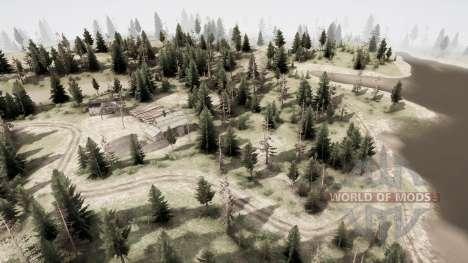 A terra dos mil lagos: Ivankol para Spintires MudRunner
