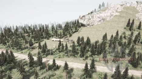 Montanha para Spintires MudRunner