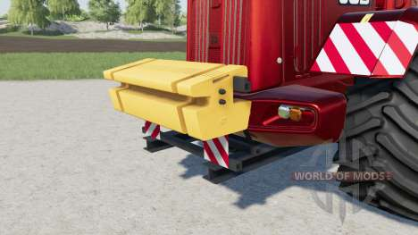 Rear Ballast Set from 1 to 5 tons para Farming Simulator 2017