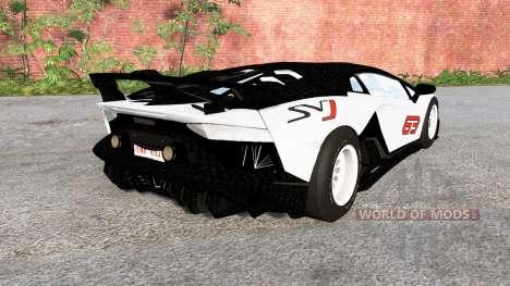 Lamborghini Aventador SVJ 2018 para BeamNG Drive