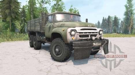 ZIL-130G 6x6 para Spintires MudRunner