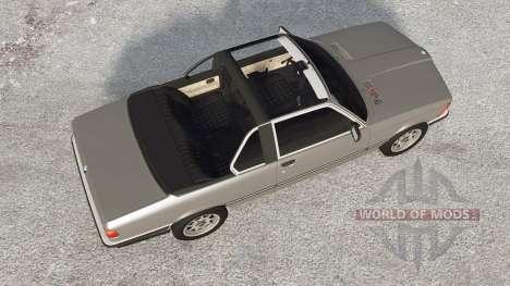 BMW 318i Top Cabriolet (E21) 1980 para BeamNG Drive
