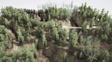 Sibéria deserta para Spintires MudRunner