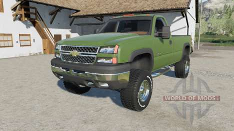 Chevrolet Silverado 2500 HD Regular Cab 2006 para Farming Simulator 2017