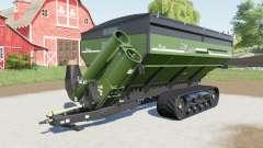 Elmers HaulMaster with trailer coupling para Farming Simulator 2017