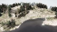 Profundidade do lago v1.01 para MudRunner