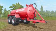 Creina CVC 14000 VƬ para Farming Simulator 2017